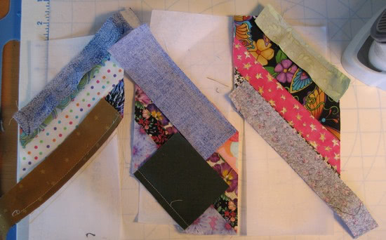 quilting in sections tutorial