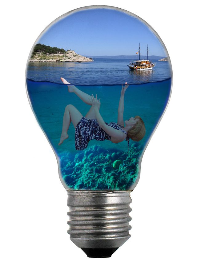 photoshop light bulb tutorial