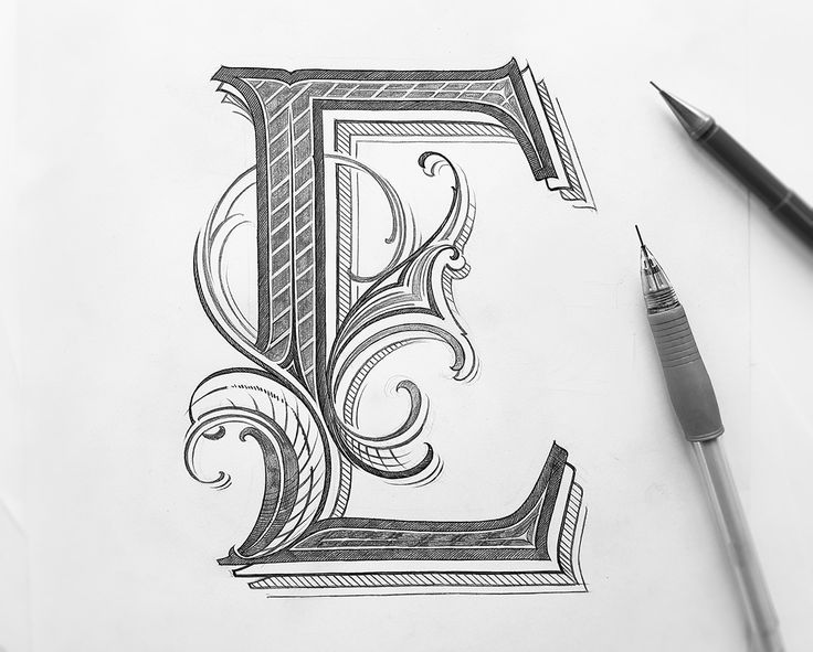 typography tutorial hand drawn