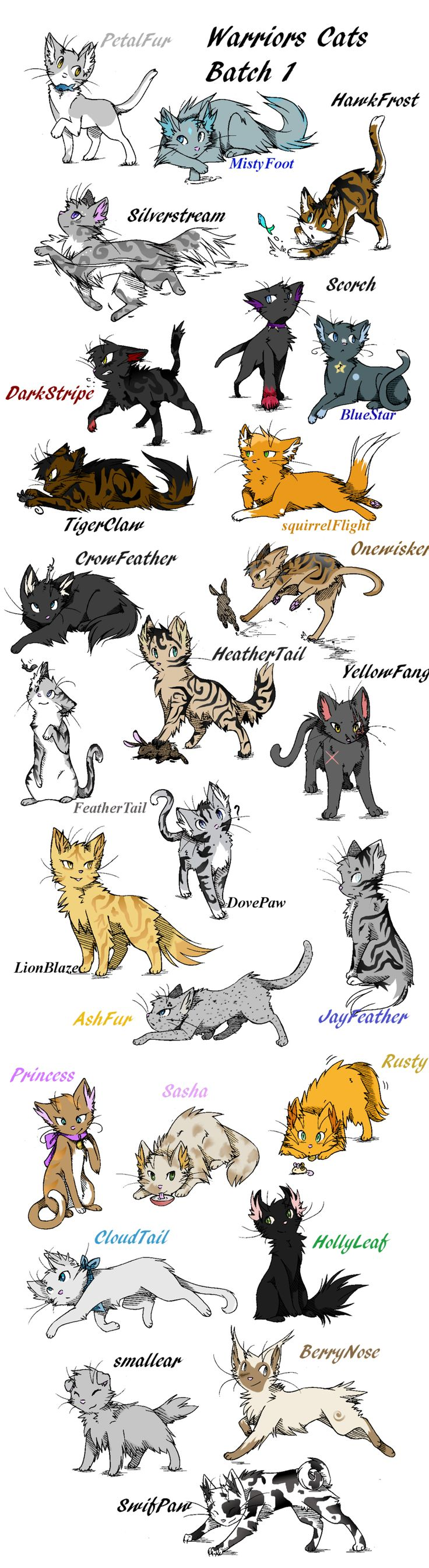 warrior cats drawing tutorial