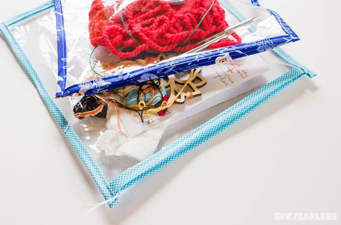 vinyl zipper pouch tutorial