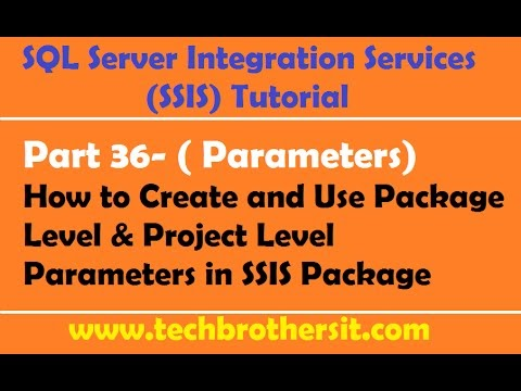 sql server ssis package tutorial
