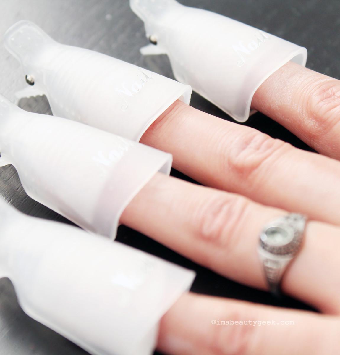 uv gel nails tutorial