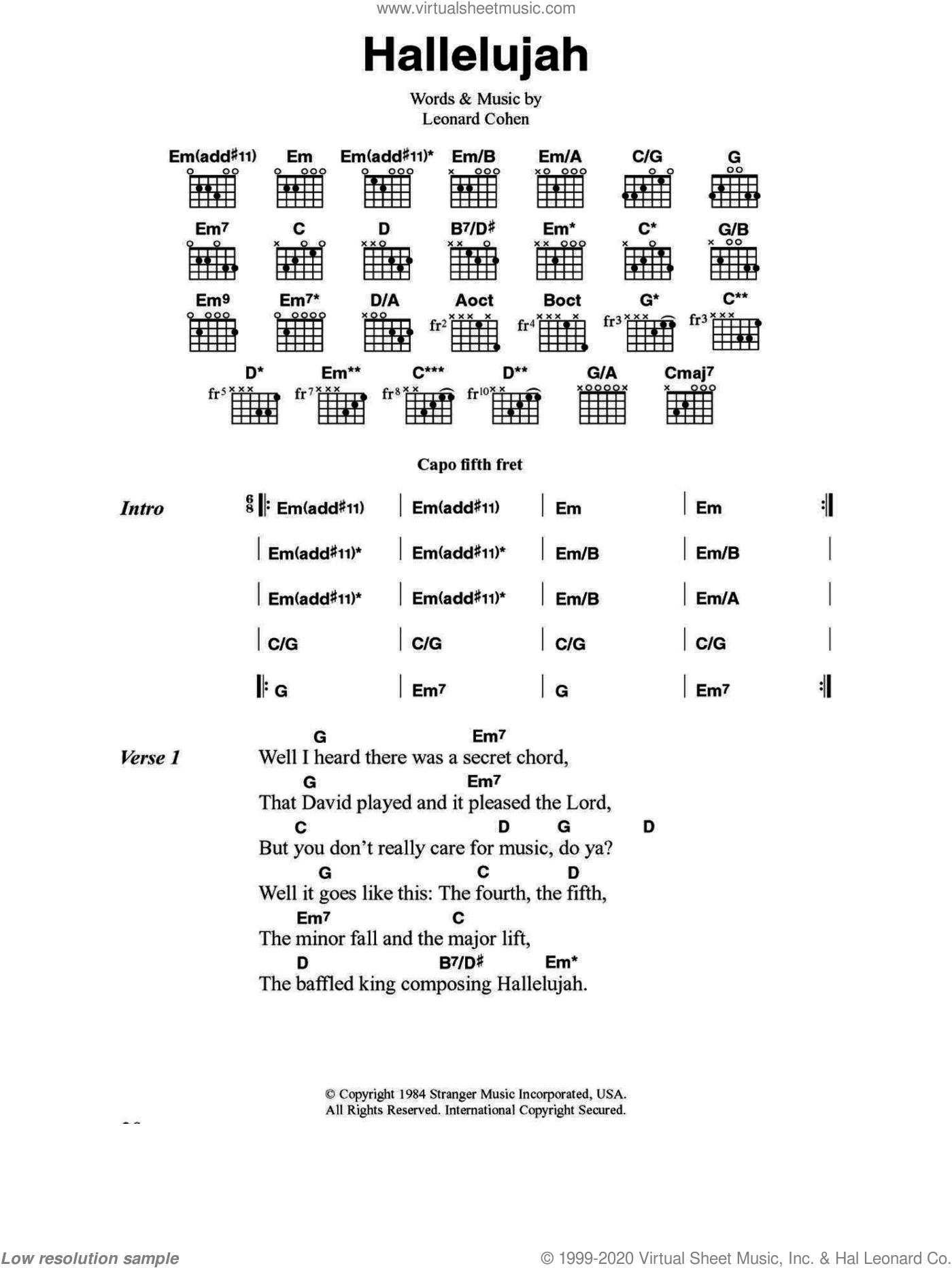 hallelujah jeff buckley piano tutorial