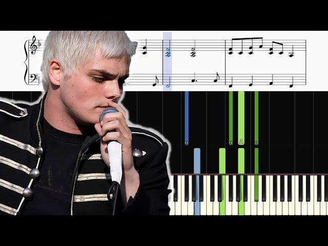 my chemical romance piano tutorial