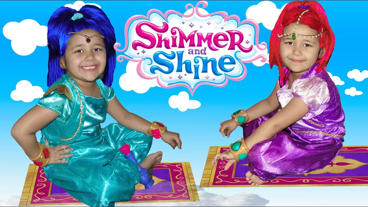 shimmer and shine makeup tutorial