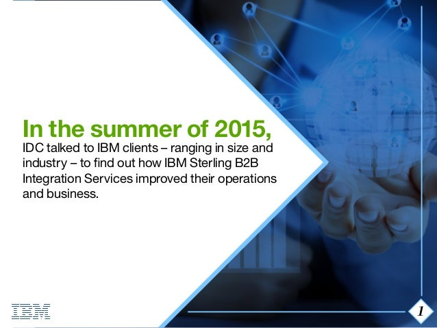 ibm sterling b2b integrator tutorial