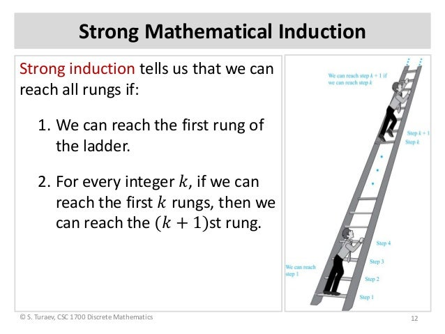 strong mathematical induction tutorial