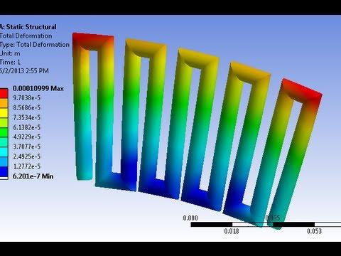 ansys thermal analysis tutorial pdf