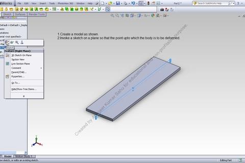solidworks tutorial step by step pdf