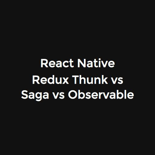 react native redux saga tutorial