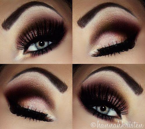 dark eye makeup tutorial