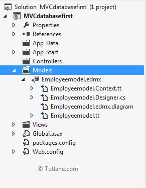 asp net mvc entity framework database first tutorial