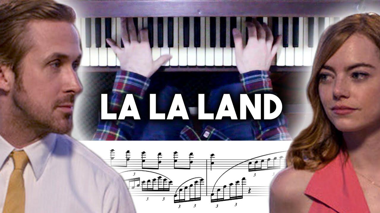 la la land epilogue piano tutorial