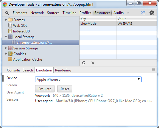 chrome extension local storage tutorial