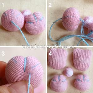 diy sock bunny tutorial