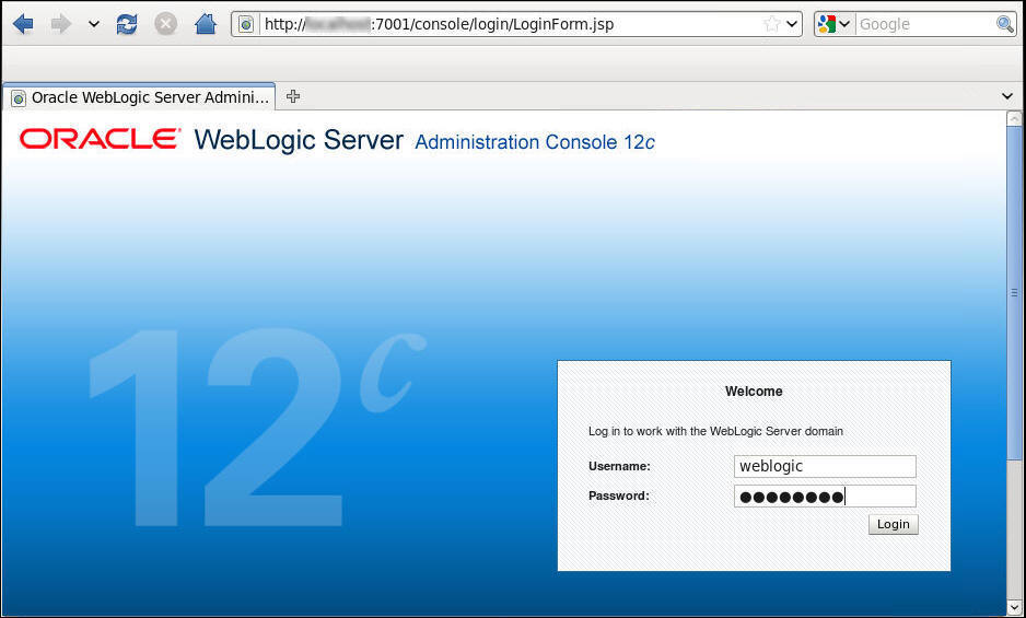 oracle weblogic 12c tutorial