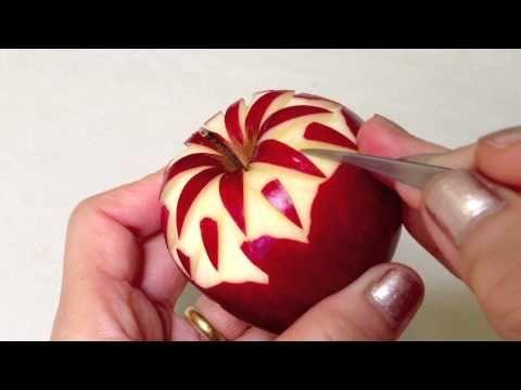 easy fruit carving tutorial