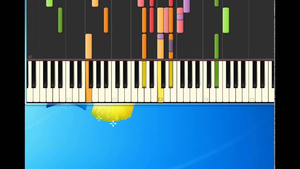 i don t like mondays piano tutorial
