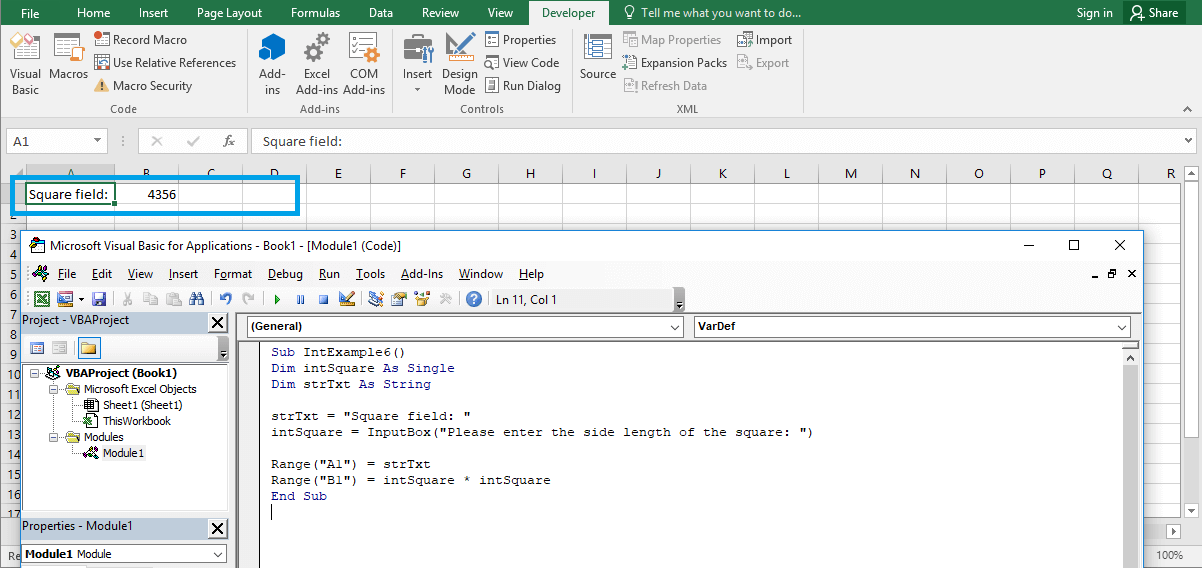 the tutorial on excel macros vba