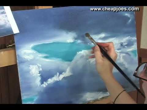 oil painting clouds tutorial