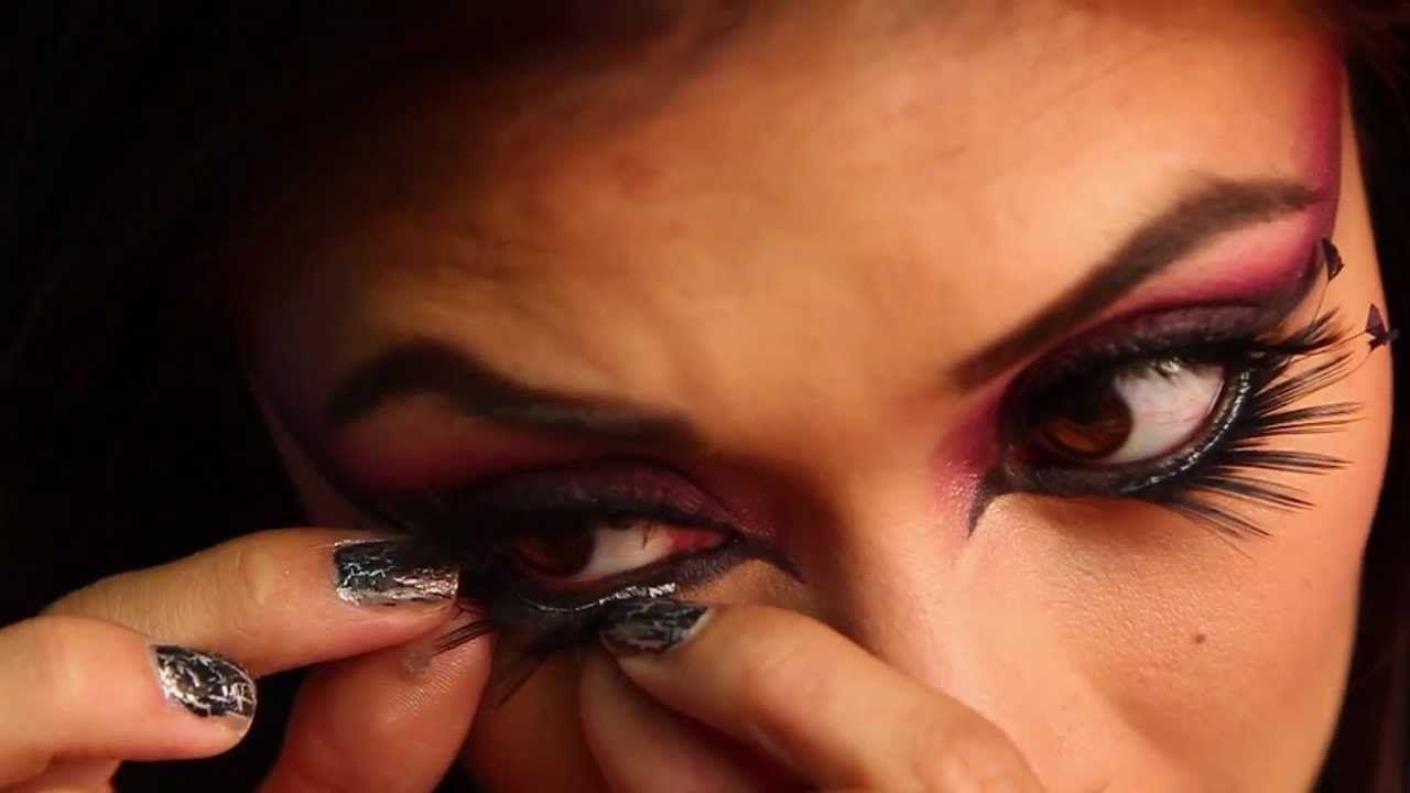 fallen angel makeup tutorial halloween