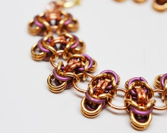 japanese 12 in 2 chainmaille tutorial