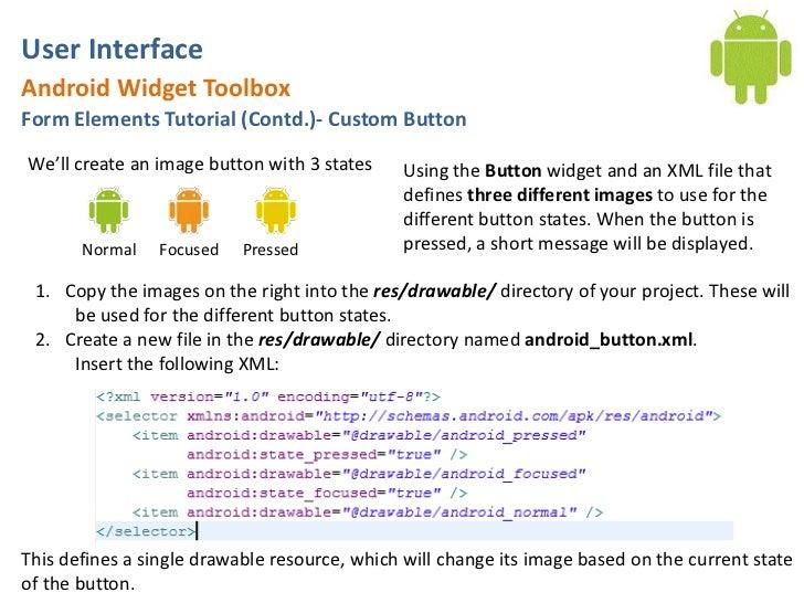 opengl user interface tutorial