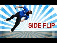 free running side flip tutorial