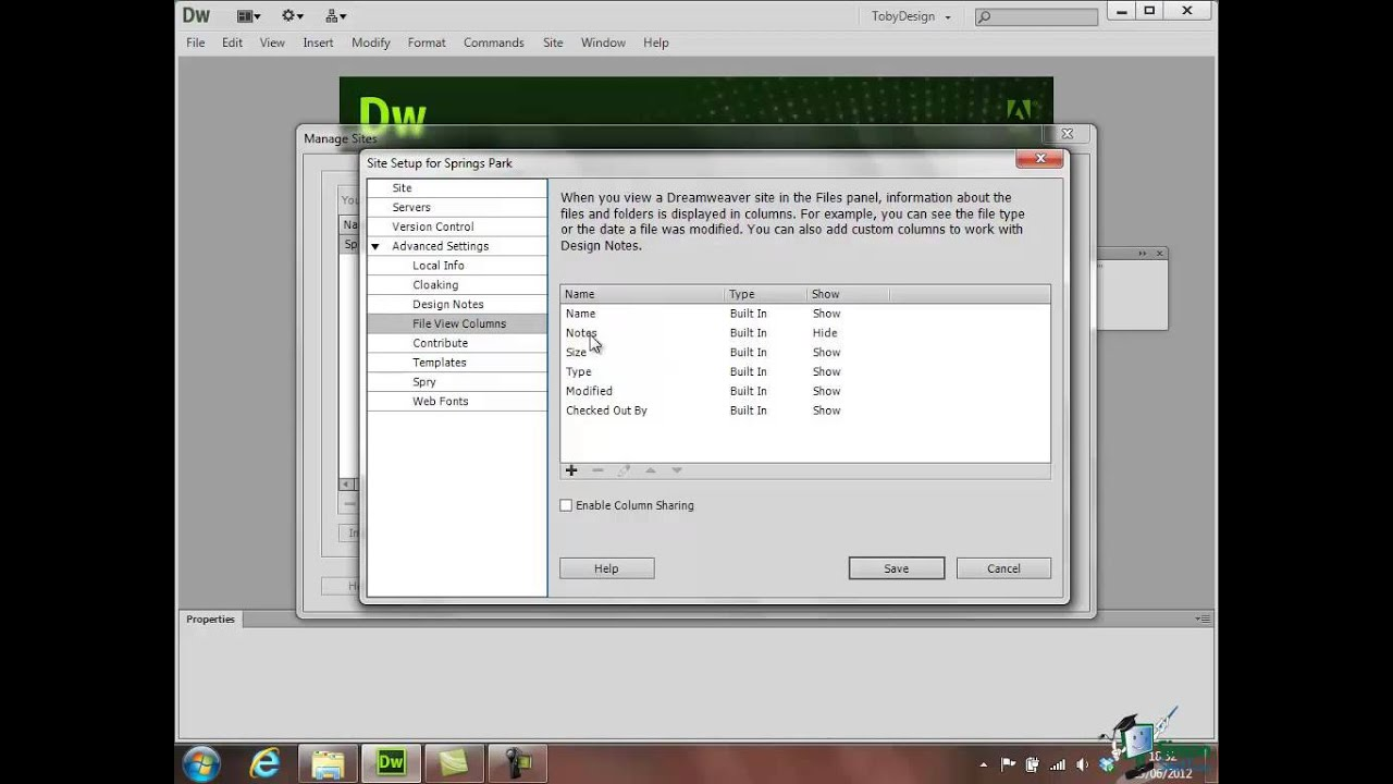dreamweaver cs6 tutorial download