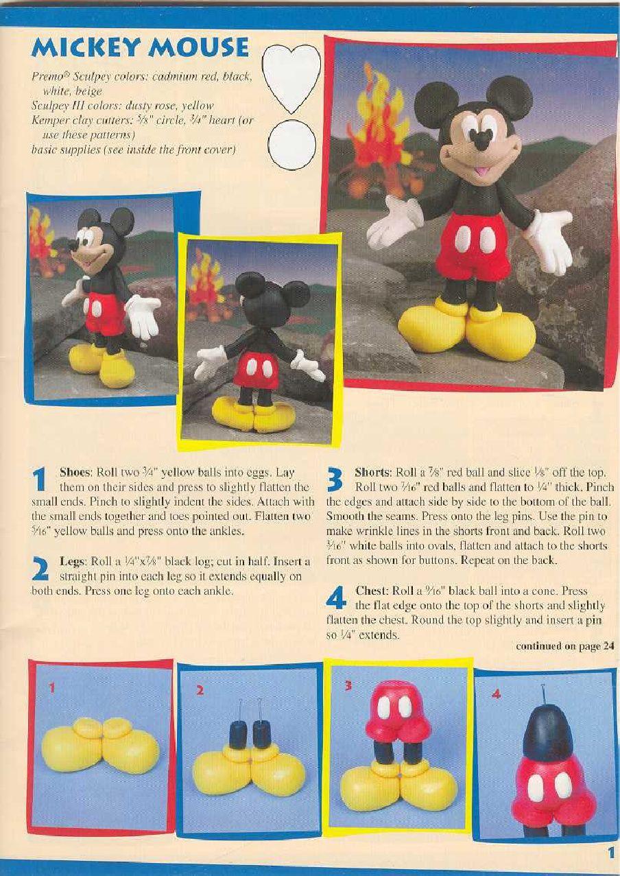 minnie mouse fondant tutorial