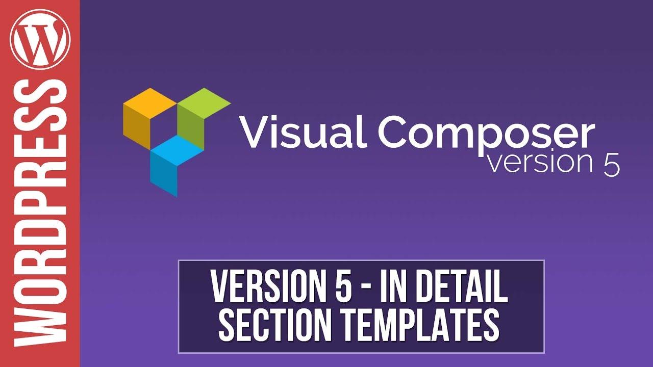 visual composer tutorial 2016