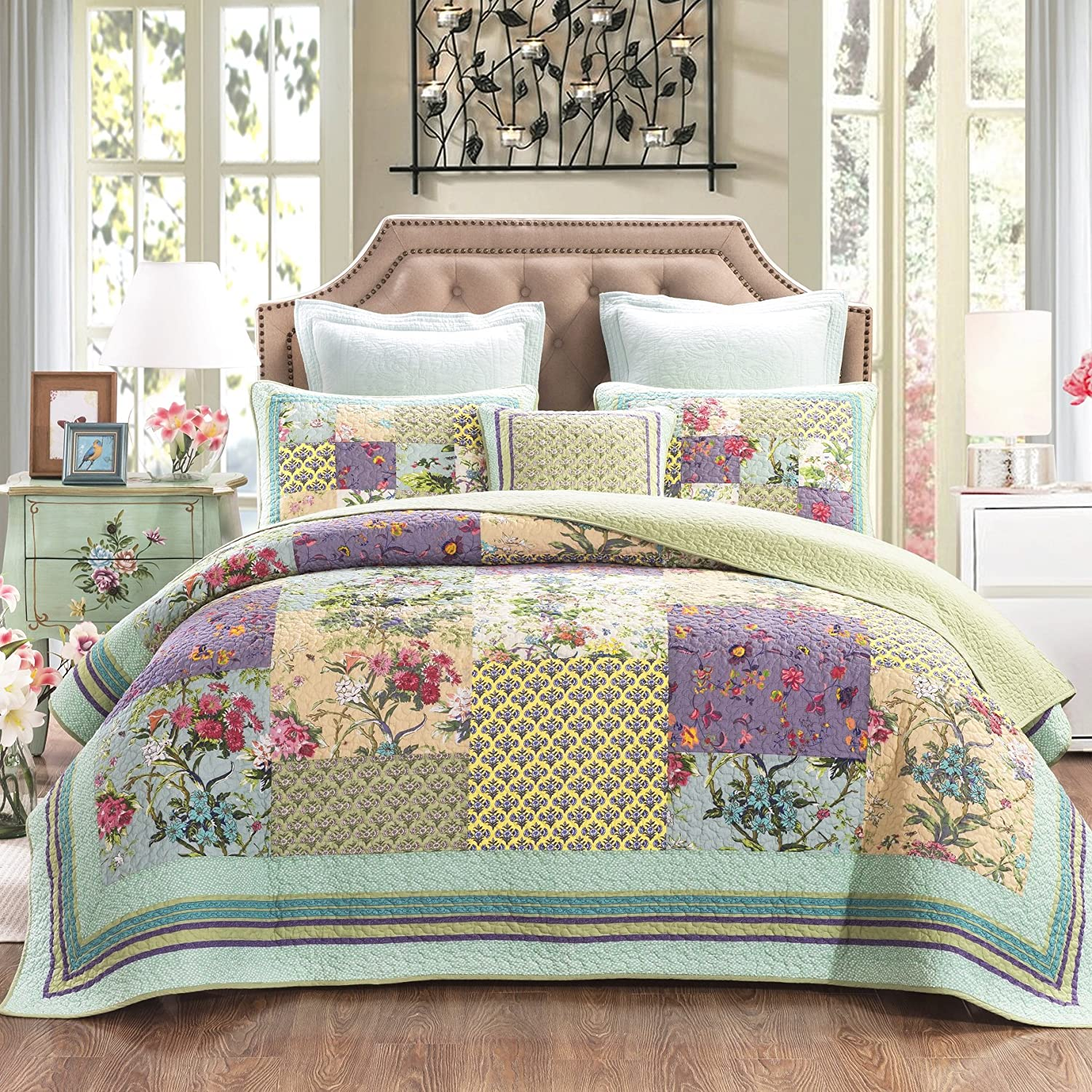 patchwork bed sheets tutorial