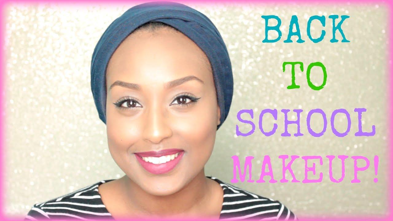 back to school makeup tutorial