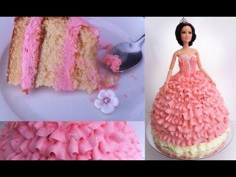princess cupcake cake tutorial