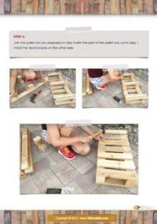 pallet shoe rack tutorial