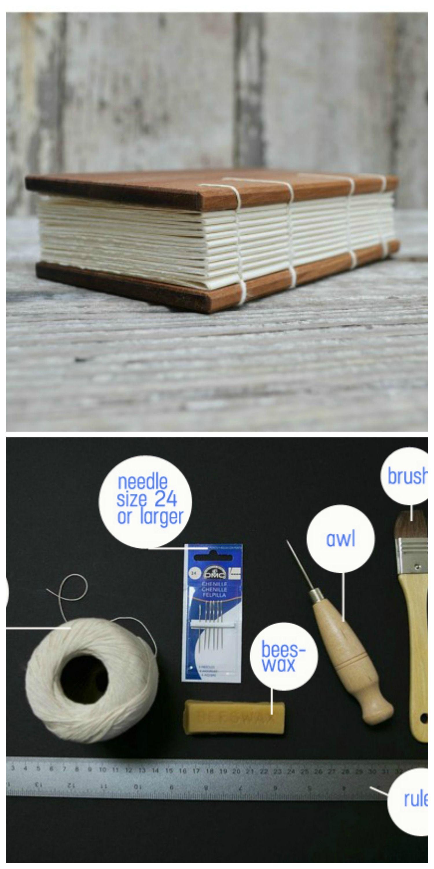 handmade book cover tutorial