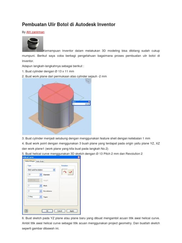 autodesk inventor tutorial pdf free