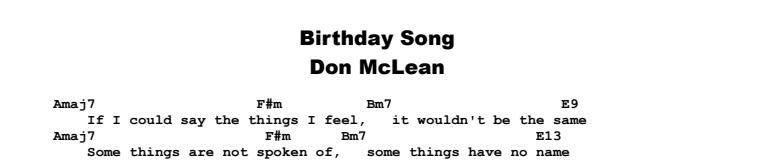 birthday song guitar tutorial