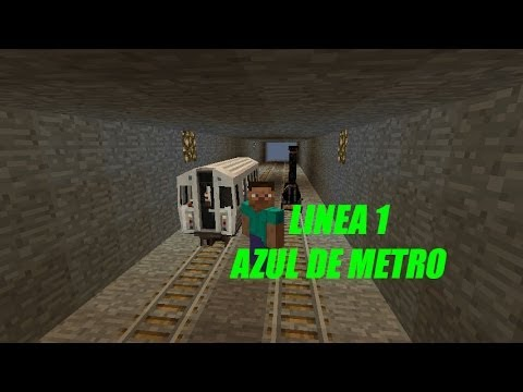 minecraft subway station tutorial