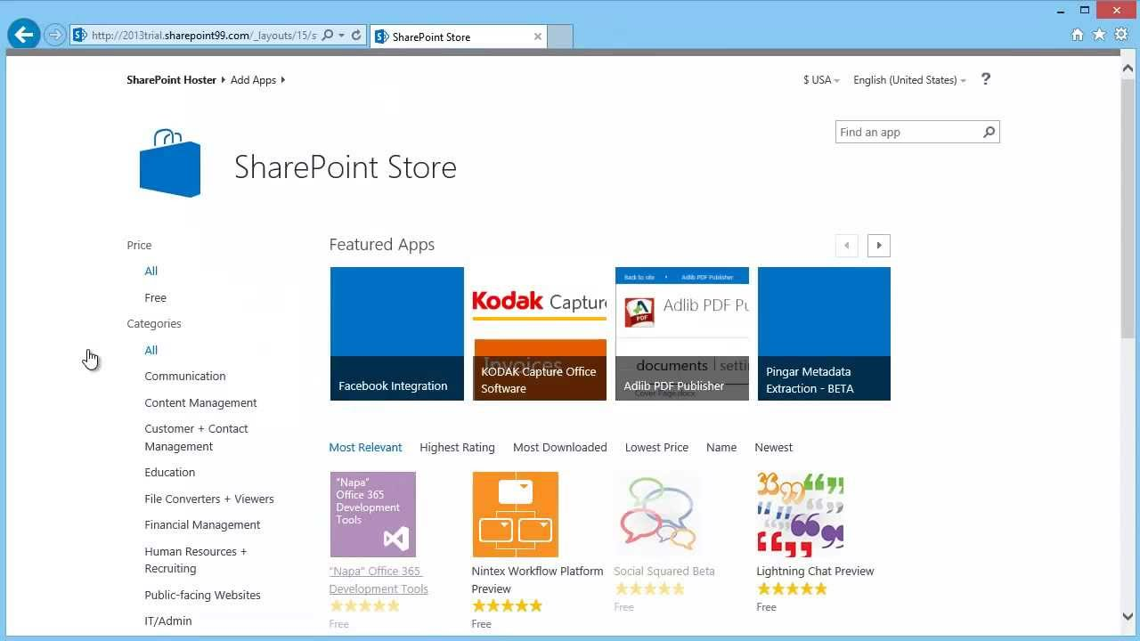 apps for sharepoint 2013 tutorial