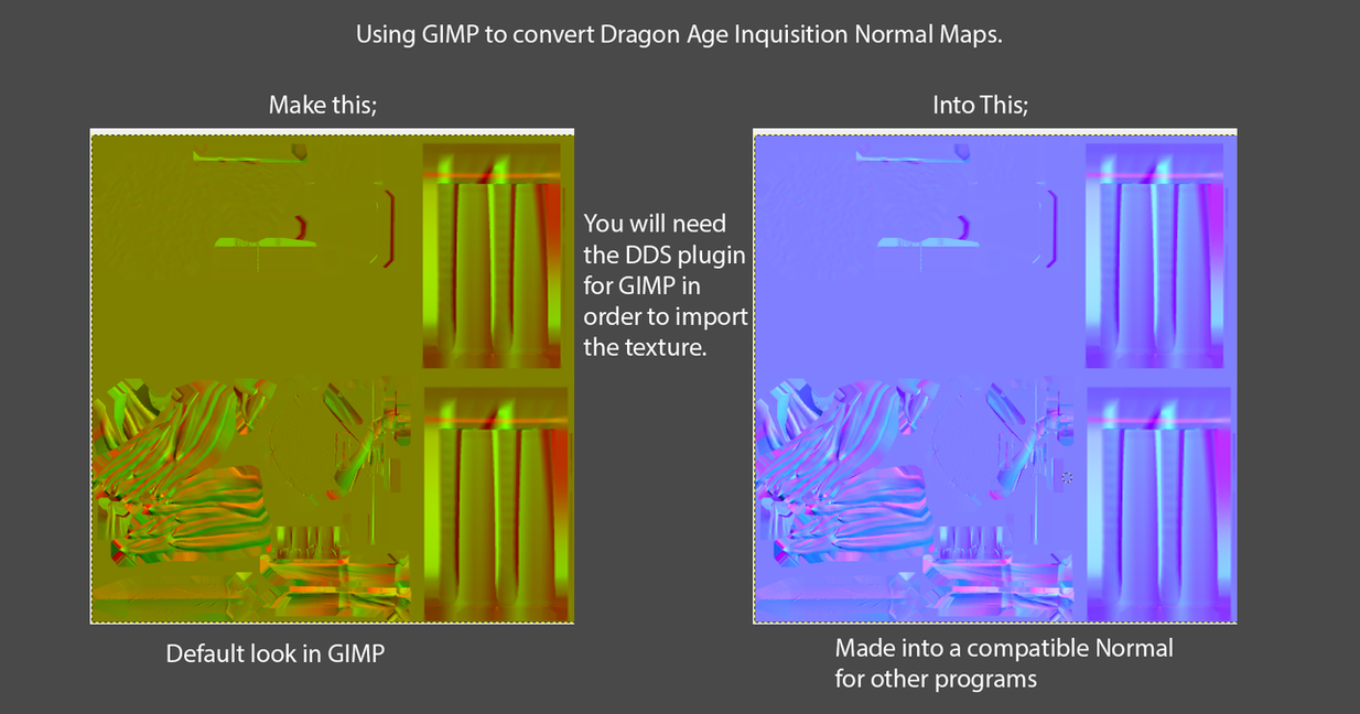 gimp normal map tutorial