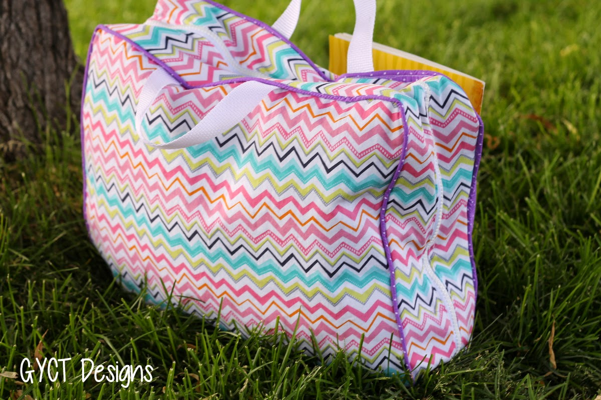 travel bag pattern tutorial