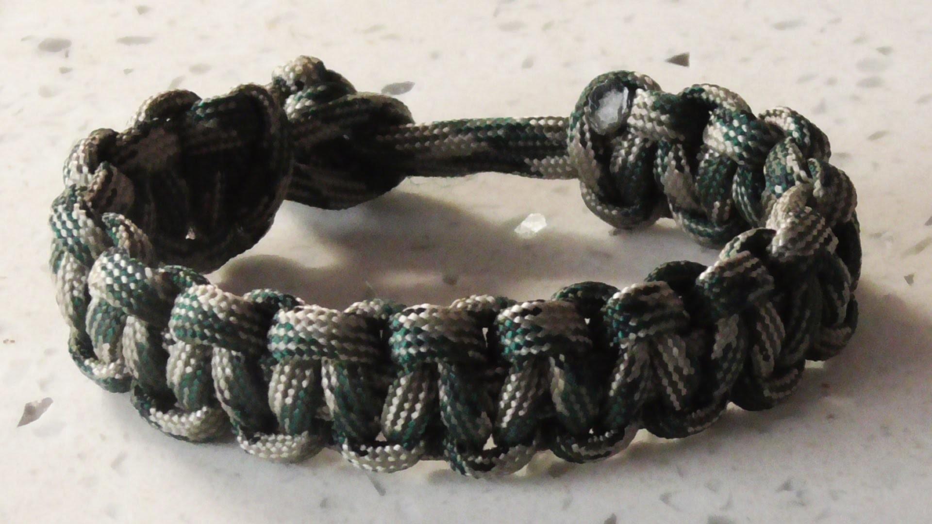easy paracord bracelet tutorial