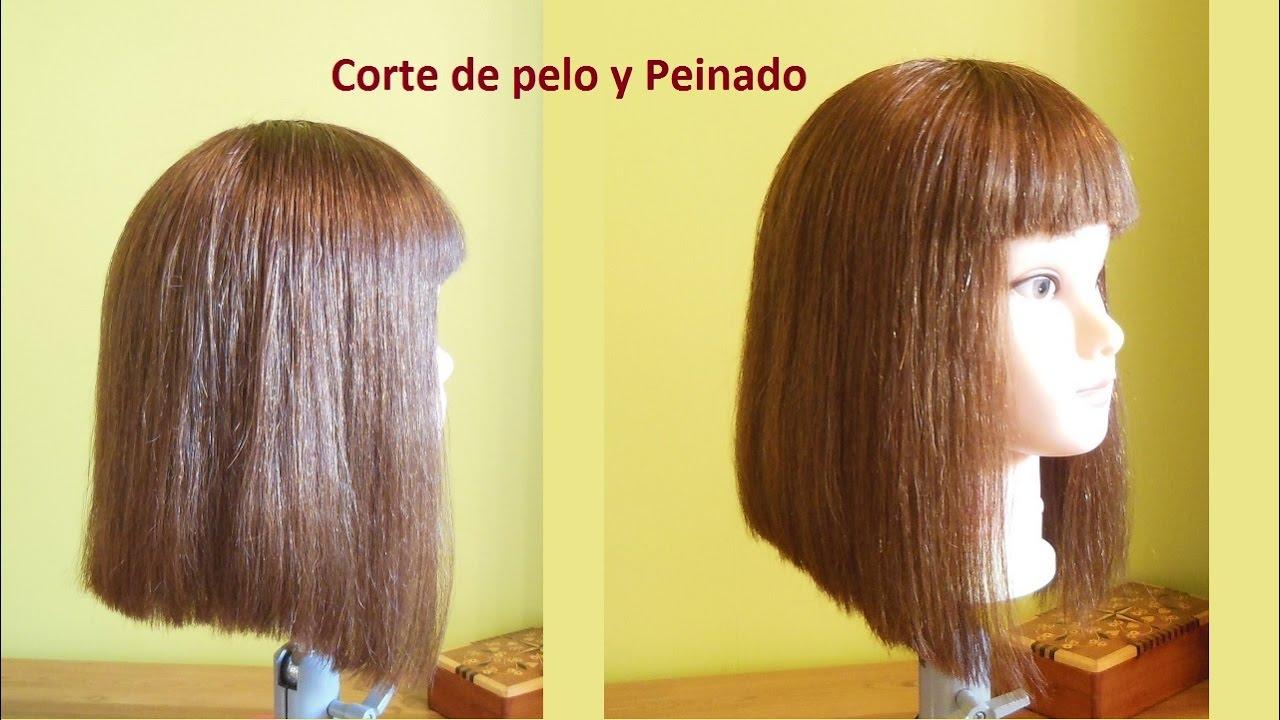 tutorial de corte de cabello para mujer