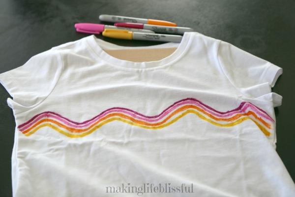 sharpie tie dye tutorial