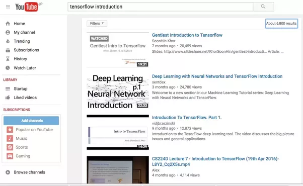 tensorflow tutorial for beginners