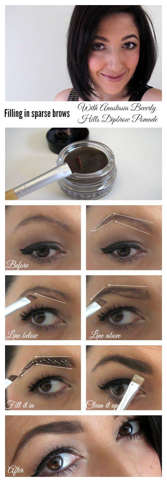 anastasia beverly hills eyebrow tutorial
