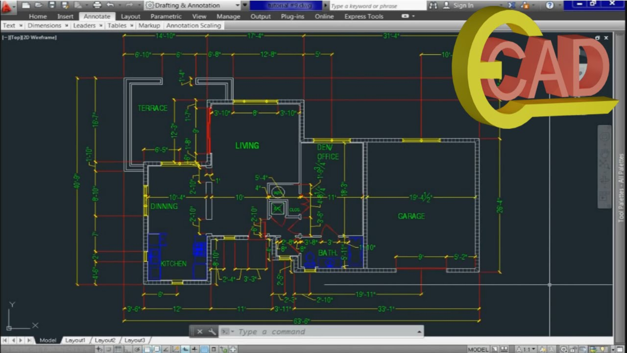 autocad 2013 tutorial video free download