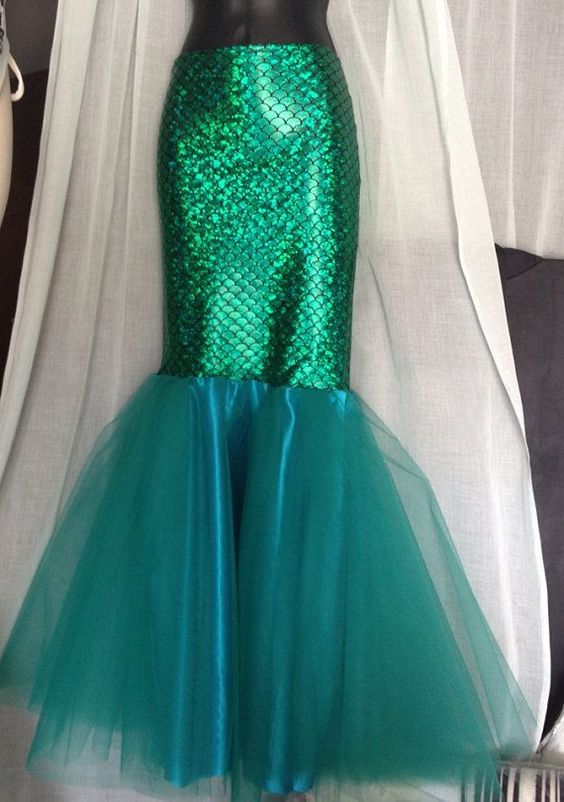mermaid costume skirt tutorial
